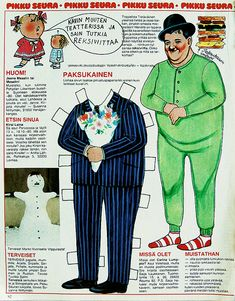 Oliver Hardy paper doll photo by shme
