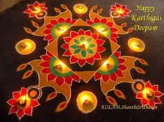 Rangoli Design Ideas & Images For Diwali & Happy New Year