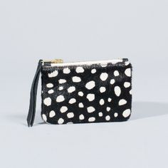 1951 Maison Francaise  Mini Collector Purse: Gorgeous mini purse by French label, 1951 Maison Francaise. Secure zip fastening, dotted lining, vintage inspired accessory.