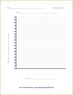 Line Graphs Template Graphing Worksheets Graph Learn Math Online Blank Bar