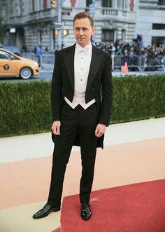 Tom Hiddleston at Met Gala