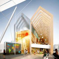 Expo Milão 2015: b720 projeta Pavilhão da Espanha inspirado em estufa