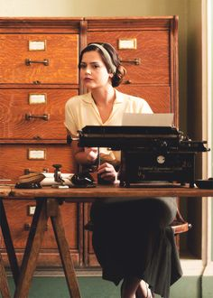 Rosie - Jenna-Louise Coleman in Dancing on the Edge, set in the 1930s (2013).