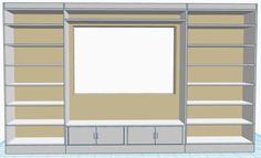 #DIY Built-In Bookshelf & Window Seat via @justmeasuringup http://www.justmeasuringup.com/blog/constructing-a-built-in-bookshelf-with-a-window-seat