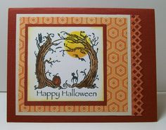Halloween Card by DelMarDesigns on Etsy