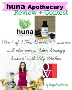 Huna Apothecary Review and Contest (by WhippedGreenGirl.com)