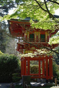 Japanese Tea Garden - Golden Gate Park - San Francisco