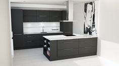 #temalperfectday keittiö Sinun mittojesi mukaan, 5cm välein! #designfromfinland Kitchen Cabinets, Vanity, Bathroom, Home Decor, Dressing Tables, Washroom, Powder Room, Decoration Home, Room Decor