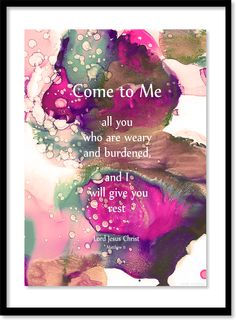 """219. """"The Great Invitation"""" - with a promise. . . . Matt Violassi  . . .  alcohol inks"""