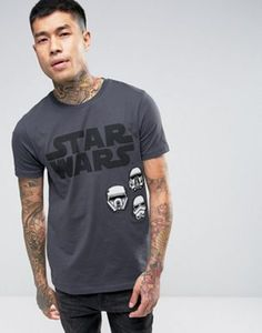 ASOS Star Wars T-Shirt With Rogue One Print And Badges