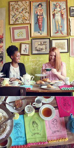 A Downton Abbey Tea Party!