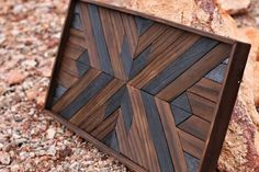 Wood Art - Shou Sugi Ban - Wall Decor - Wall Art - Home Decor - Handmade - Artwork - Wedding Gift