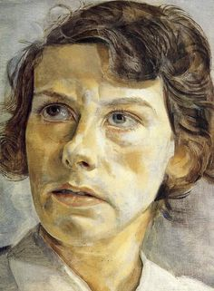 Lucian Freud, Portrait of Lady Elizabeth Cavendish (1950)