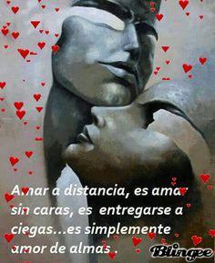 SUEÑOS DE AMOR Y MAGIA: Amar a distancia