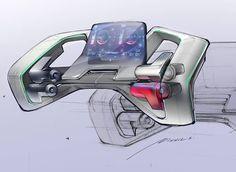 [Design Update] Concept steering wheel design exploration by @nikhilsorted. #design101trendsofficial #design101trends @techdesigns_…