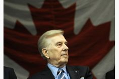 Lloyd Robertson, the avuncular face of broadcast news for more than four decades, will be inducted into the Canadian News Hall of Fame on Wednesday. I Am Canadian, Canadian History, Canadian Artists, Canadian Bacon, Capital Of Canada, O Canada, Canada Travel, New York Central, Banff