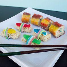 Candy Sushi - California Rolls and Nigiri Sushi - directions