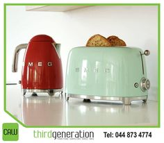 We just did this photo shoot with Smeg's small domestic appliances. We first teamed up with Smeg about two years ago;