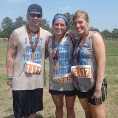 Feels good to finish a 5K filled with mud and obstacles!!!  MUD DASH 3/31/12 Sam Houston Race Park. DO IT!!!