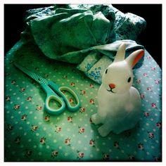 vintage fabrics by Deva, via Flickr
