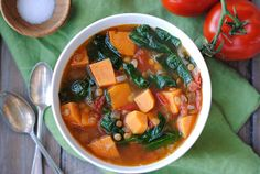 Sweet Potato & Lentil Soup