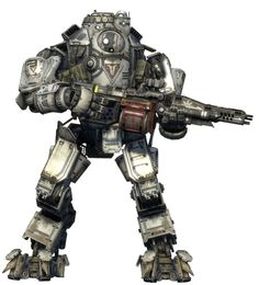 Mechs illustrated: the killer suits of 'Titanfall'   The Verge
