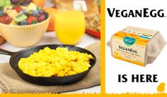 Follow Your Heart's NEW VeganEgg and Other Vegan Alternatives to use when cooking! Long List Here! #MyVeganJournal