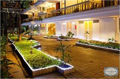 Ocean Palms is situated off the main Calangute road. This tropical eco friendly resort blends the spirit of pastoral Goa with an atmosphere that is reasonable, comfortable and welcoming. This budget hotel in Goa offers accomodation suited to both the business as well as leisure traveler.  Visit Goa, the Cox and Kings way! bit.ly/CnkGoGoa #CoxandKings