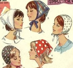 Vintage Scarf Pattern, Purse, Handbag, Summer Time Scarf, Head Scarf. $22.00, via Etsy.