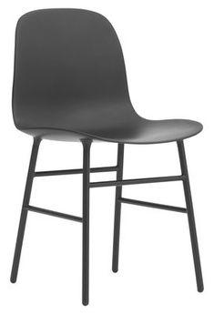 Form Stuhl / Stuhlbeine aus Metall - Normann Copenhagen