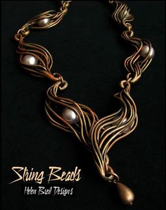 string_beads free tutorial by Helen Breil - Really fun stuff here.  #polymer clay #tutorial