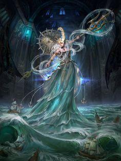 Poseidon by inshoo1 on deviantART