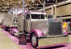 Peterbilt.....by far my favorite big rig.