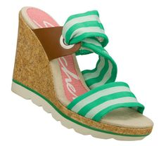 Treat your mom's feet to some sunshine and warm weather with the Cutting Edge – Slide Bar wedge sandal. ($49)