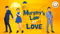 Murphy's Law of Love. 2015 Taiwanese drama. I'm love this drama. It's really cute.