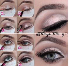 makeup, eyes, tutorial
