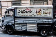 Citroen Van, Citroen Type H, Foodtrucks Ideas, Catering Van, Retro Bus, Coffee Van, Food Vans, Commercial Van, Coffee Truck