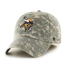 Minnesota Vikings Officer Digital Camo 47 Brand Fitted Hat 74a209766