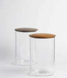 Glass Jars by Kiyokazu Tsuda/Yoshiyuki Kato from Analogue Life via Sarah Lonsdale