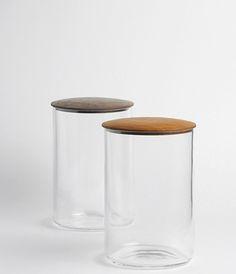 Glass Jars by Kiyokazu Tsuda/Yoshiyuki Kato