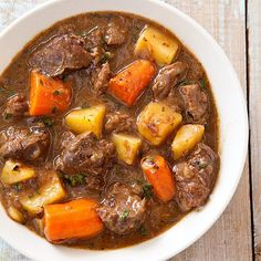 Beef and Guinness stew. Yum!