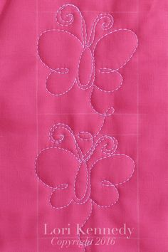 The Butterfly-A FREE Machine Quilting Tutorial The Inbox Jaunt…