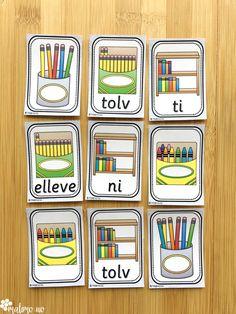 Klypekort til begynneropplæringen i matematikk. Addisjon, subtraksjon og arbeid med mengder i tallområdet 1-20. Fasit på baksiden for selvrettende aktivitet! Blog, Blogging