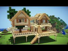 Super Simple Minecraft Starter Home Minecraft Pinterest