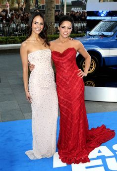 Fast and Furious 5 Premiere Party in London, England attended by Jordana Brewster and Michelle Rodriguez Michelle Rodriguez, Fast And Furious Actors, Fast & Furious 5, Hollywood Actresses, Actors & Actresses, Dom And Letty, Dominic Toretto, Furious Movie, Sofia Vergara