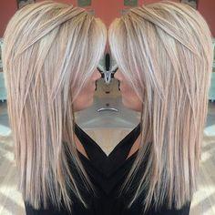 Miss Southerns new hair #hairbykorianbradley #blonde #highlights