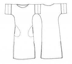 e47c825164d4 Coni Tunic Pattern - Tessuti Fabrics - sewing pattern Modello Tunica