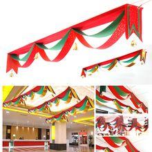 2 m 3 m 4 m 5 m Natal Bandeira Bandeiras Onda Doecrations Pingente Ornamento Da Árvore de Natal Suprimentos Pingente de Natal Navidad Decoração Presente(China (Mainland))