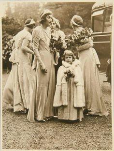 Queen Elizabeth II,  as a young girl