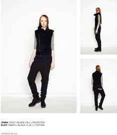 nenukko.com #black #winter #vest